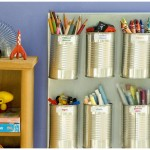 Aluminum can craft organization