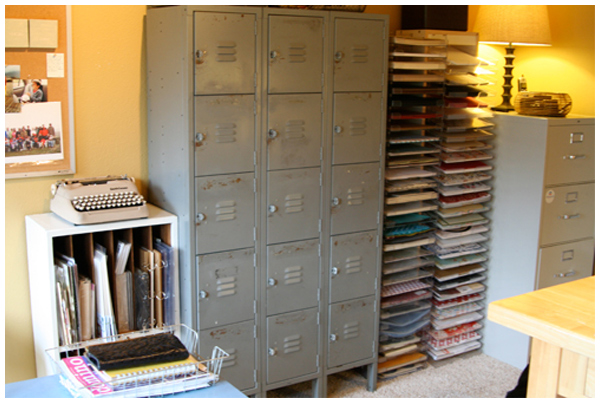 Arts studios organizing ideas joy studio design gallery for Craft paper storage ideas