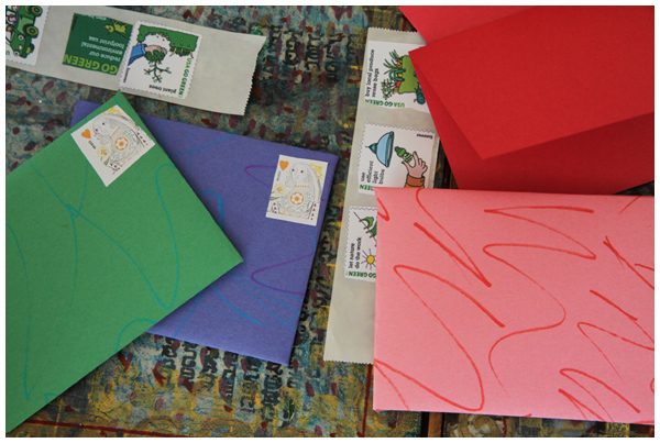 Art Envelopes For the Play Post Office – The Creative Salad