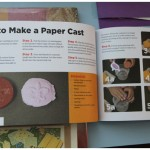 Making recycled paper books