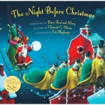 The Night Before Christmas book illustrated by Eric Puybaret with music by Peter, Paul and Mary