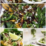 Healthy salads and vegetarian recipes that are gluten-free to try from Pinterest
