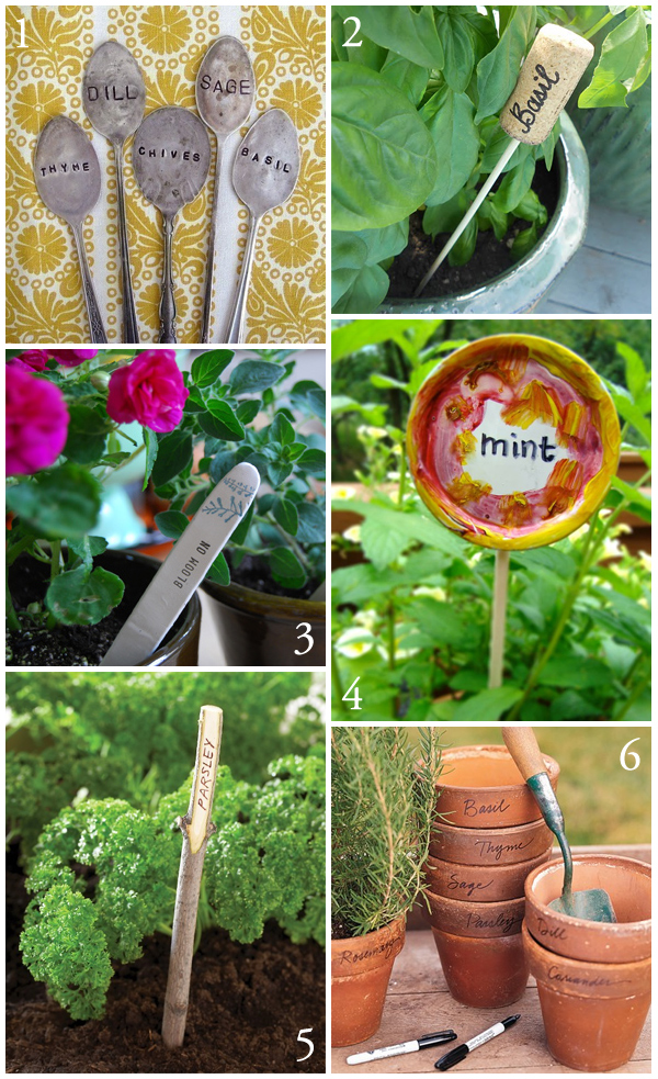 DIY Plant Marker Tutorial Round-Up – The Creative Salad