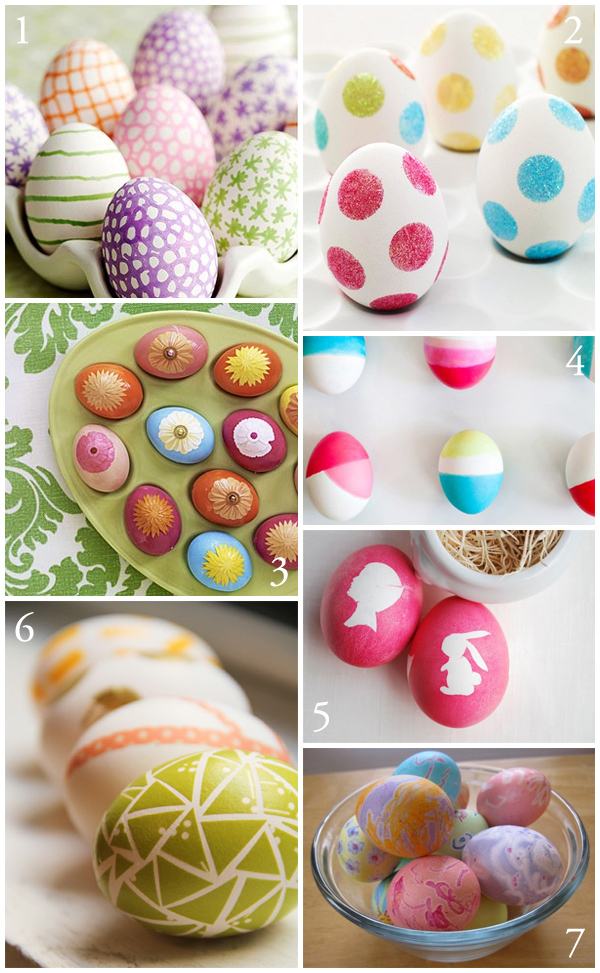 More ways to decorate easter eggs the creative salad First home decor pinterest