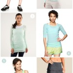 Workout clothes wishlist